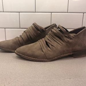Free Soul Taupe Booties